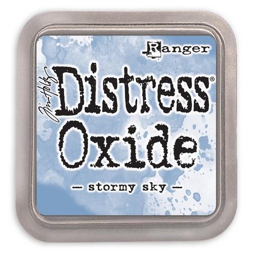 ranger distress oxide stormy sky tdo56256 tim holtz