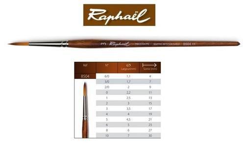 raphal precision watercolour brush round 3 85043