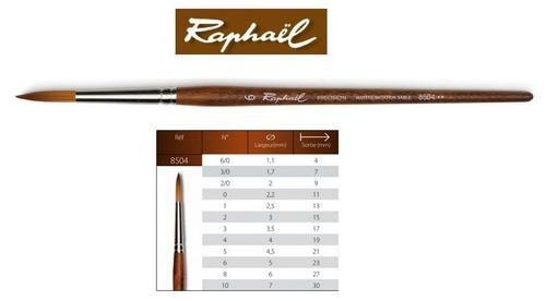 raphal precision watercolour brush round 6 85046