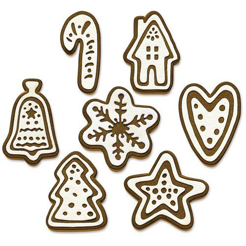 sizzix thinlits die set 14pk christmas cookies 665566 tim holtz 0921