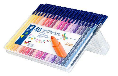 staedtler triplus color feutre box 40 pc 323 sb40
