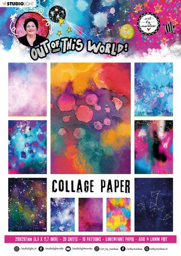 studio light paper pad abm out of this world nr14 abmootwpp14 a4 0921