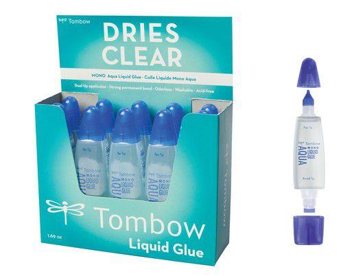 tombow liquid glue aqua 10 st 50 ml 19ptwtc10p