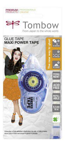tombow maxi power tape permanent blister 19pnip 84 mmx16 mtr