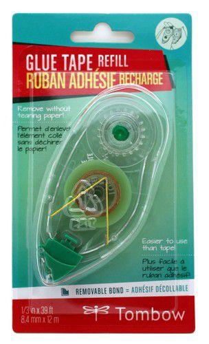 tombow nachfllung fr glue tape nonpermanentblister 19prmk 84 mmx12 mtr