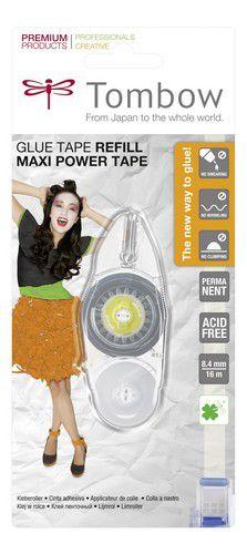 tombow nachfllung fr maxi power glue tape permanentblister 19prip 84 mmx16 mtr