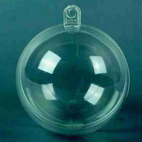 transparent plastic ball 7 cm 5pc
