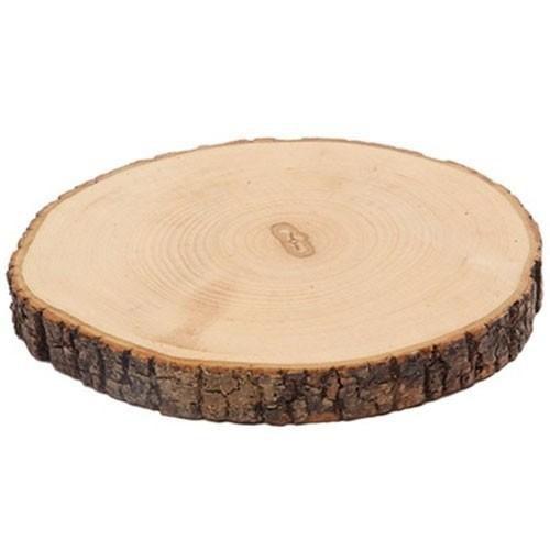 tree bark slice around diameter 1618 cm
