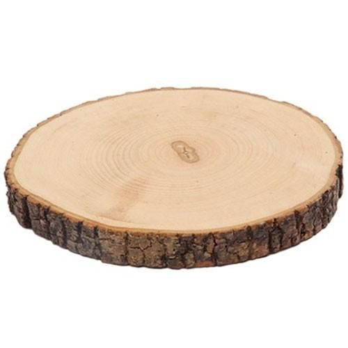 tree bark slice around diameter 810 cm